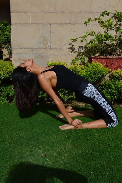 Saanya Gulati's Blog utranasana