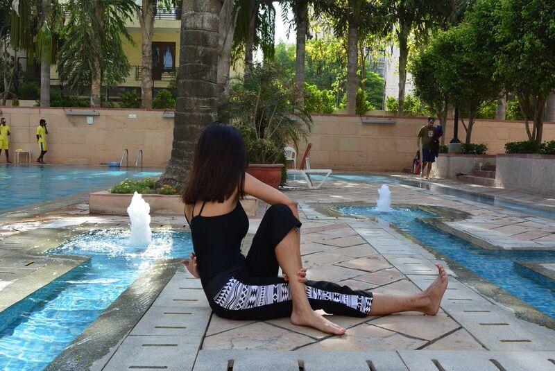 Saanya Gulati's Blog -Ardh matsayandra asana