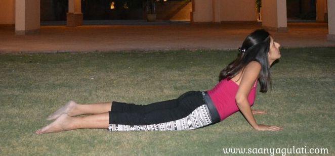 Saanya Gulati's Blog -bhujangasana