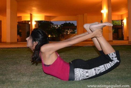 Saanya Gulati's Blog -dhanurasna