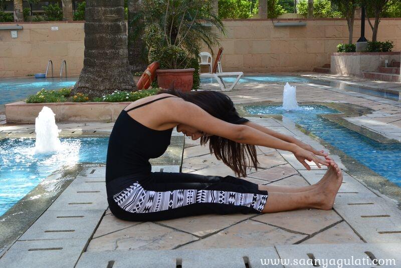 Saanya Gulati's Blog -paschimottasana