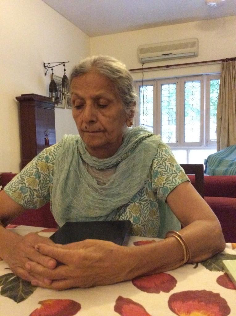 Saanya Gulati, Blog, Partition