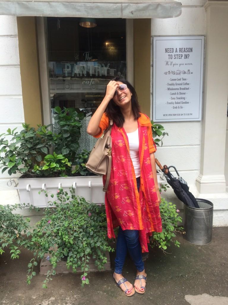 Saanya Gulati, Handloom Day - Ikat Kurta