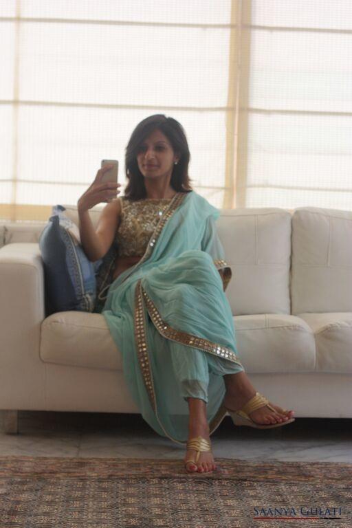 Saanya Gulati, Indian Hanger - Dhoti Saree 2