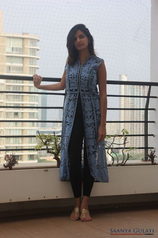 Saanya Gulati, Indian Hanger - Kurta Jacket