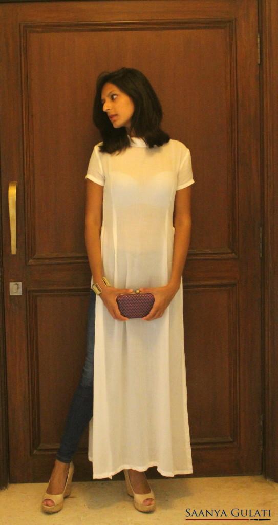 Saanya Gulati, Vesa Maxi Top, Evening Look 1