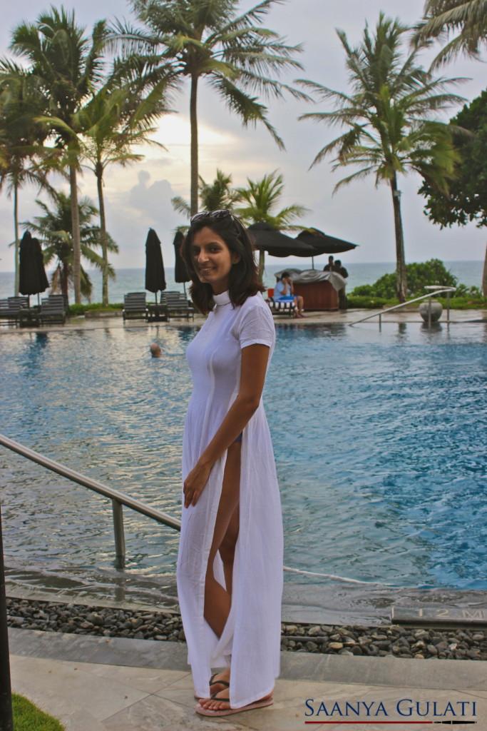 Saanya Gulati, Vesa Maxi Top, Pool Look