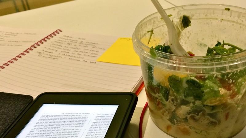 Saanya Gulati's Blog, Hummus Salad