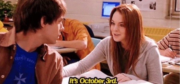 Saanya Gulati's Blog (Mean Girls Day)