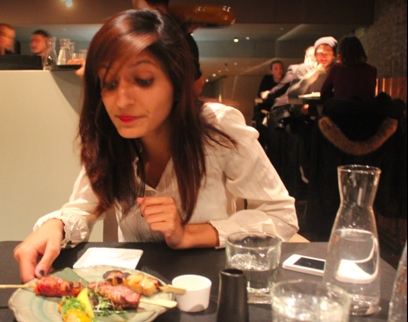 Saanya Gulati's Blog, Sushi n Sticks