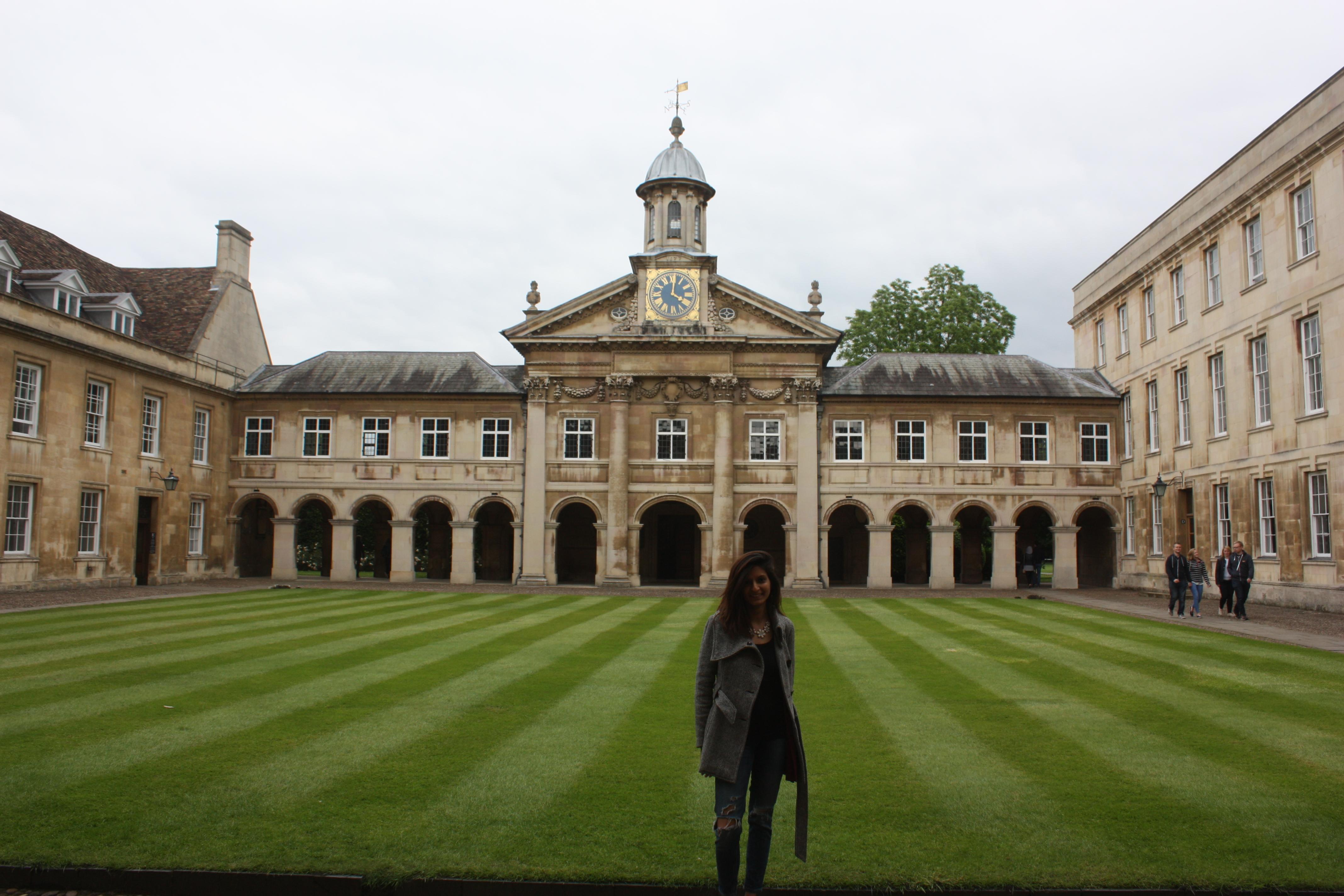 #QuadGoals at Cambridge
