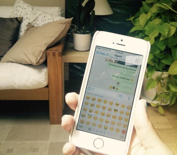 Saanya Gulati's Blog, Emoji Day